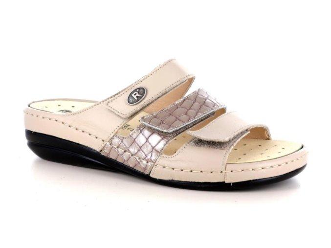 Dámské kožené pantofle ROBERT 37608 CORDA