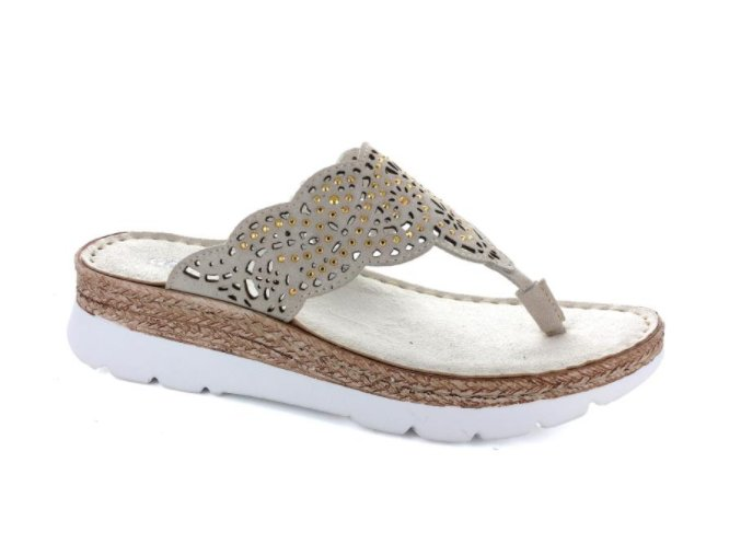 Dámské pantofle ALIBI RAMI9257 LAMB