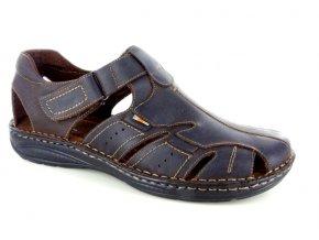 Pánské sandály BSL ATLA304 CAFFE