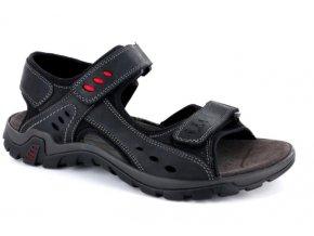 Pánské sandály IMAC 104340 NERO