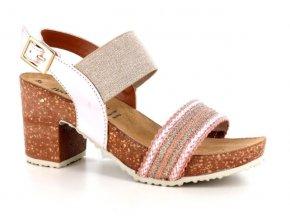 Dámské sandály BIO COLORS 281255 LATTE-SEZAMO-LINO