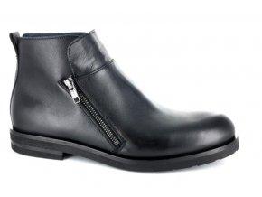 Pánská kotníková obuv BENSON 90238 NERO