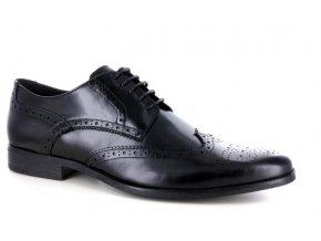 Pánské společenské boty BENSON 90109 NERO