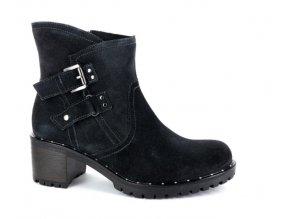Dámská zimní kotníková obuv G.FIORENTINO  AURA 20403 ABISSO