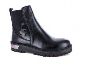 Dámská kotníčková obuv CADUTA LIBERA 404SR NERO