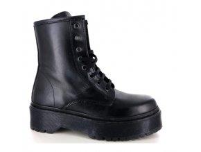 Dámská kotníčková obuv TU SI CHE VALI 2223 NERO