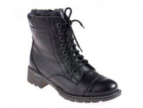 Dámská zimní kotníčková obuv STELLA 1134 BLACK