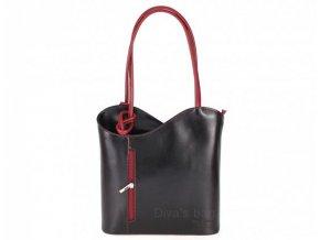Dámská kožená kabelka DIVAs CHIARA-různé barvy