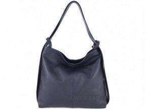 Dámská kožená kabelka DIVAs SAMONA -různé barvy