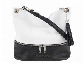 Dámská kožená kabelka DIVAs JOSS -různé barvy