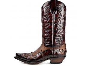 Westernová obuv SENDRA 3241 FLORENTIC FUCHSIA/SP.7004