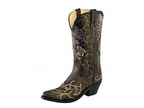 Jama Old West LF1587E dámská westernová obuv
