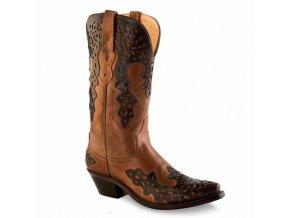 Jama Old West LF 1539  E dámská westernová obuv