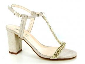 Dámské společenská obuv LINEA UNO 639 CREME