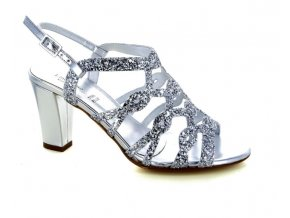 Dámské společenská obuv LINEA UNO 840 ARGENTO