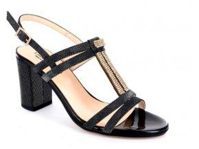 Dámské společenská obuv LINEA UNO 870 NERO
