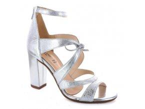 Dámské společenská obuv LINEA UNO 669CRA ARGENTO