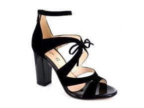 Dámské společenská obuv LINEA UNO 669CAM NERO