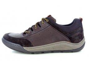 Pánské boty ZEN 8012 DK BROWN
