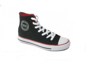 Dámská plátěná obuv DK 14SS039 BLK/WHT