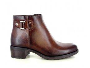 Dámská zimní kotníková obuv I LOVE DONNA 19007 CUOIO
