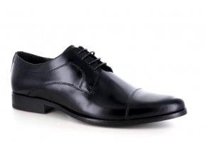 Pánské společenské boty BENSON 90111 NERO