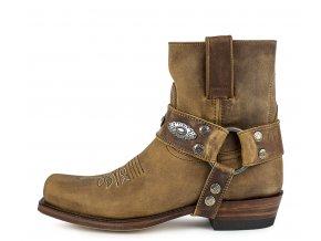 Dámská westernová obuv SENDRA 12670 PETE FLOTER TANG LAVA