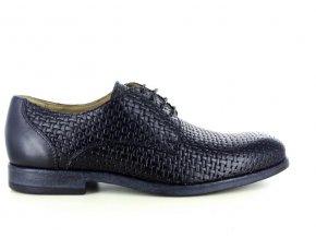 Pánské společenské boty BENSON 2608B NERO