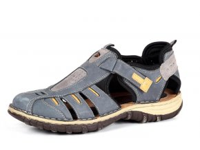 Pánské sandály ZEN 6867 AZZURO