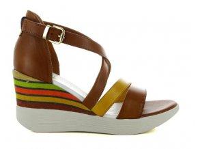 Dámské letní sandály ELLEN BLAKE 6008 BRANDY