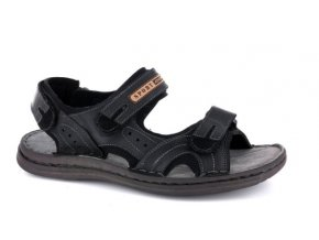 Pánské sandály ROBERT 85700SA NERO