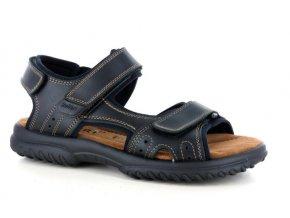 Pánské sandály ROBERT 857002SA NERO