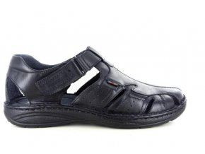 Pánské sandály BSL ATLANTIC304 NERO