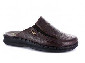 Pánské letní pantofle ROBERT 851283 T.MORO