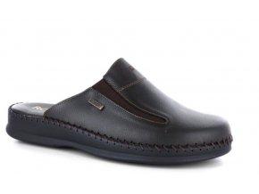 Pánské letní pantofle ROBERT 85128 NERO