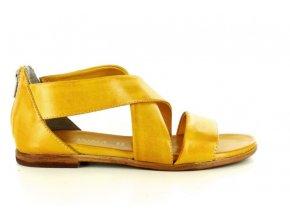 Dámské sandály I LOVE DONNA 15003 GIALLO