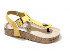 Dámské sandály BIO COLORS 257A068 OCRA
