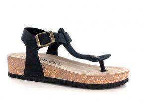 Dámské sandály BIO COLORS 293271 NERO