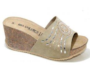 Dámské sandály BIO COLORS 259A031 BEIGE