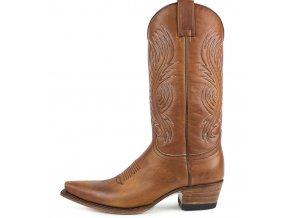 Westernová obuv SENDRA 2605 SALVAJE CALIFORNIA MIELE