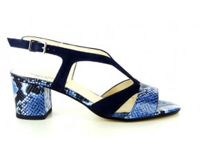 Dámské společenská obuv LINEA UNO 741 BLU/OCEANO