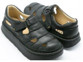 Sandály LESTA UNISEX 3860 černá