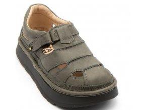Sandály LESTA UNISEX 3860 šedá
