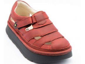 Sandály LESTA UNISEX 3860 červená