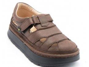 Sandály LESTA UNISEX 3860 hnědá matná