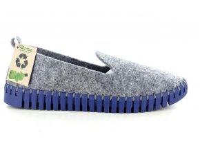 Dámská domácí obuv PATRIZIA FLEXI-GRIGIO
