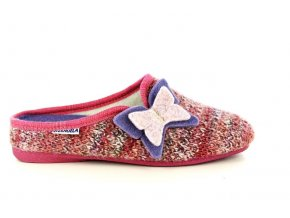Dámská domácí obuv EMANUELE 1545 ROSSA