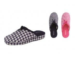 Dámská domácí obuv De Fonseca MILANOW500 BLU SCURO/FUXIA