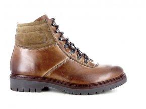 Pánská kotníková obuv BENSON 3820 CUOIO/BRUCIATO