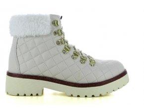 Dámské zimní kotníkové boty RHAPSODY 909345W WHITE